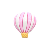 "Pink & White Hot Air Balloon - 1"" Resin"