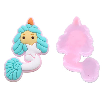 "1.5"" Mermaid - Jelly Resin Applique"