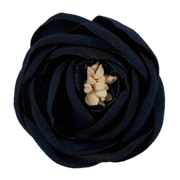 "Navy Blue - 2.25"" Antique Satin Rose"