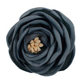 "Vintage Blue - 2.25"" Antique Satin Rose"