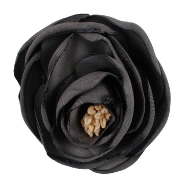 "Dark Gray - 2.25"" Antique Satin Rose"