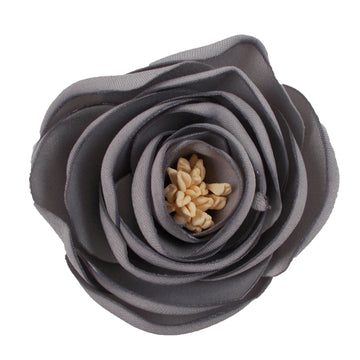 "Gray - 2.25"" Antique Satin Rose"