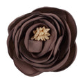 "Taupe - 2.25"" Antique Satin Rose"