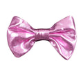 "Light Pink - 3"" Shiny Metallic Bow"