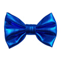 "Royal Blue - 3"" Shiny Metallic Bow"
