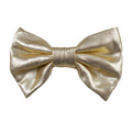 "Light Gold - 3"" Shiny Metallic Bow"