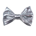 "Silver - 3"" Shiny Metallic Bow"