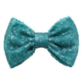 "Aquamarine - 5"" XL Sequin Bow"