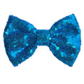 "Blue - 5"" XL Sequin Bow"