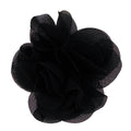 "Black - 2.5"" Small Chiffon Rose"