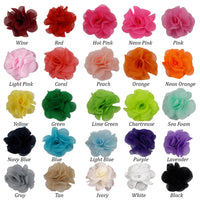 "Sampler - 2.5"" Small Chiffon Rose - 25 Flowers"