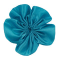 "Blue - 2"" Satin Ribbon Flower"