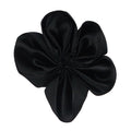 "Black - 2"" Satin Ribbon Flower"