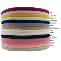 Dusty Rose - Thin Nylon Headband