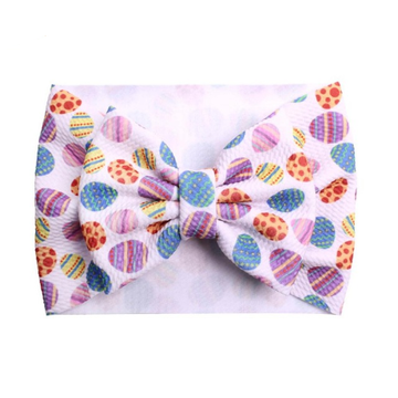 Colored Eggs - Liverpool Bow Headwrap