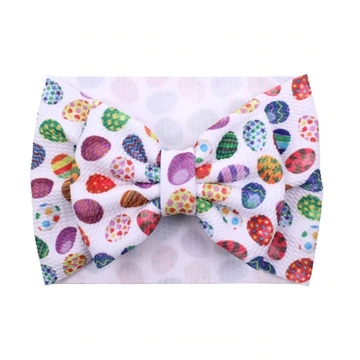 Easter Eggs - Liverpool Bow Headwrap