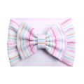 Easter Chevron - Liverpool Bow Headwrap