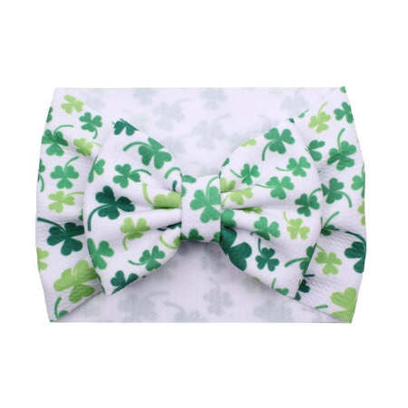 Shamrocks - Liverpool Bow Headwrap