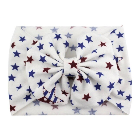 Stars of Glory - Jersey Knit Bow Headwrap