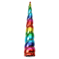 "Rainbow - 8"" Padded Unicorn Horn"