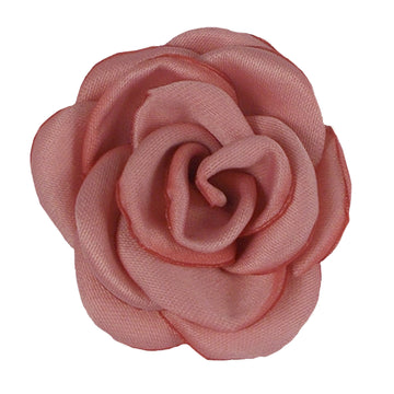 "Blush - 1.5"" Mini Satin Rose"