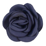 "Smokey Lavender - 1.5"" Mini Satin Rose"