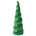"Green Sequins - 5"" Padded Unicorn Horn"
