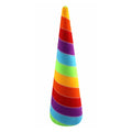 "Bright Rainbow  - 5"" Padded Unicorn Horn"