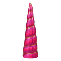 "Hot Pink Iridescent - 5"" Padded Unicorn Horn"