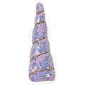 "Lavender Iridescent Sequins - 4.5"" Padded Unicorn Horn"
