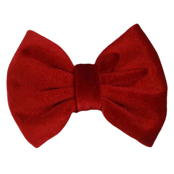 "Red - 5"" Large Velvet Bow"