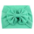 Aquamarine - Jersey Knit Bow Headwrap