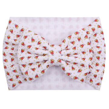 Candy Corn - Liverpool Bow Headwrap