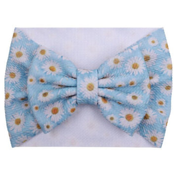 Daisies - Liverpool Bow Headwrap