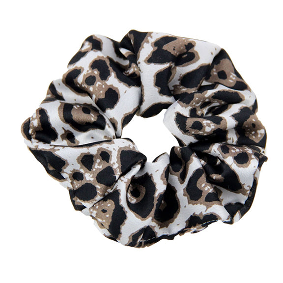 Cheetah This - Satin Scrunchie