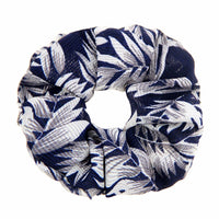 Dad's Navy Hawaiian Shirt Scrunchie