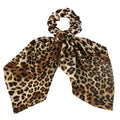 Abby Tabby - Faux Silk Srunchie with Tails