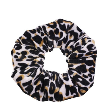 Animal Print #5 - Velvet Scrunchie