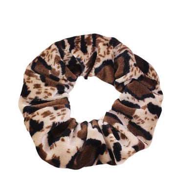Animal Print #6 - Velvet Scrunchie