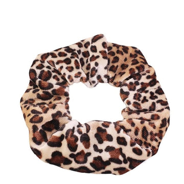 Animal Print #8 - Velvet Scrunchie