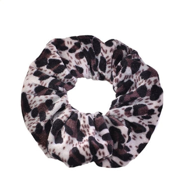 Animal Print #10 - Velvet Scrunchie
