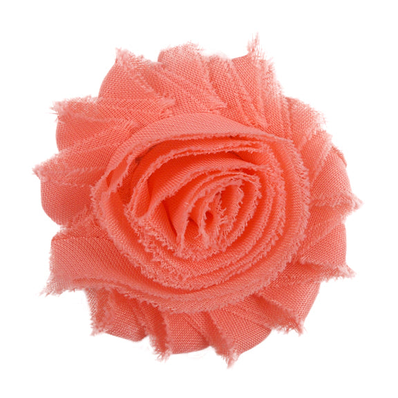 "Coral Peach - 2.5"" Solid Shabby Trim"