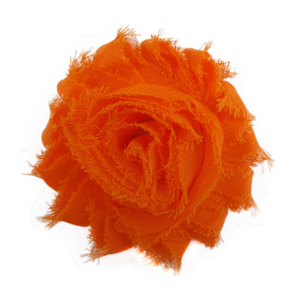 "Neon Orange - 2.5"" Solid Shabby Trim"
