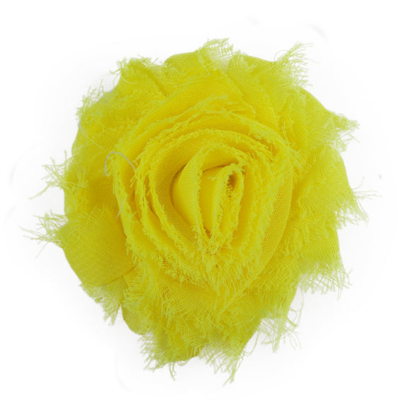 "Neon Yellow - 2.5"" Solid Shabby Trim"