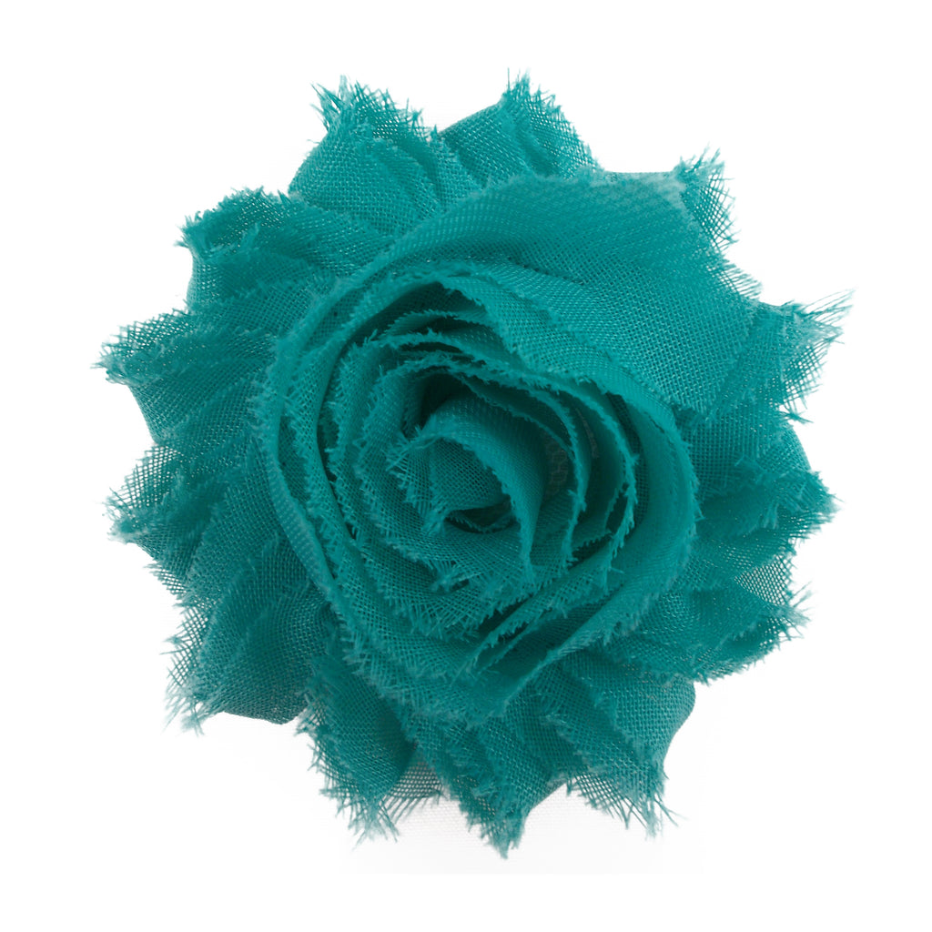 "Dark Aqua - 2.5"" Solid Shabby Trim"