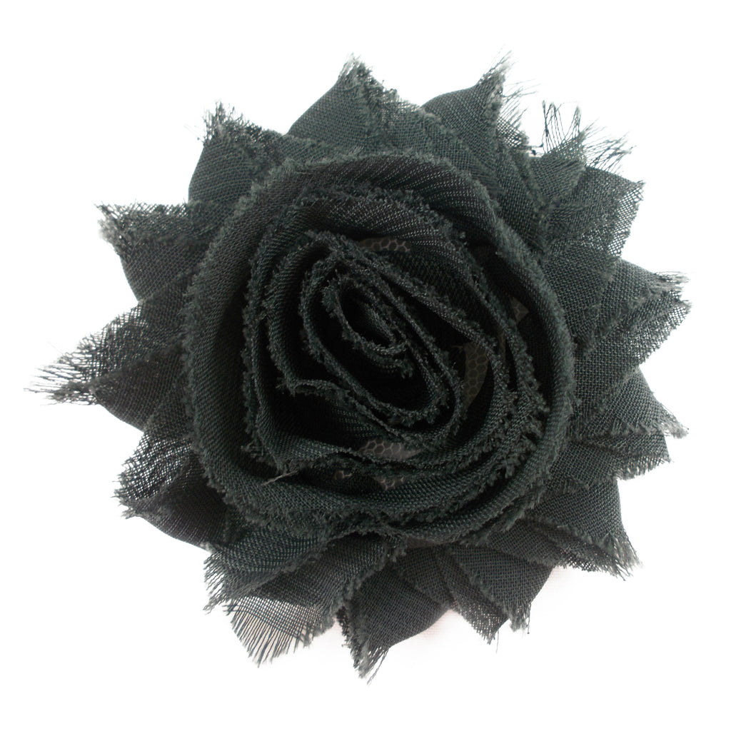 "Charcoal - 2.5"" Solid Shabby Trim"