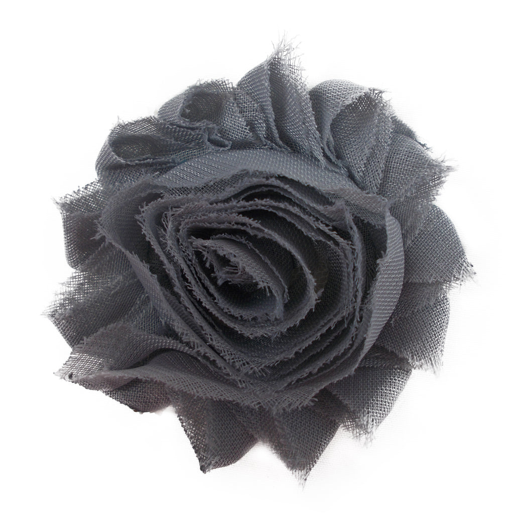 "Gray - 2.5"" Solid Shabby Trim"