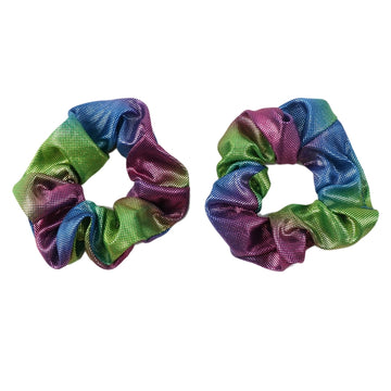 Comet - Shiny Metallic Scrunchie