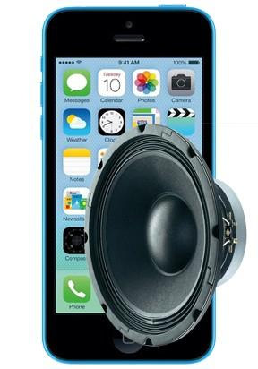 iPhone 5C Loudspeaker Repair Service