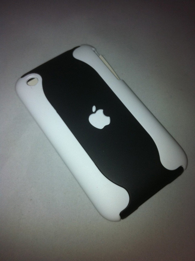 iPhone 3G Case - White-Black